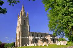 St Peters church Empingham village