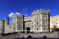 Exterior view of Windsor Castle, Windsor town
