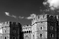 Exterior view of Windsor Castle, Windsor
