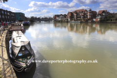 The River Thames, Windsor town