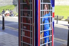 Royal commemorative telephone box, Windsor