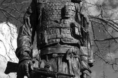 Bronze Memorial to the Irish Guards, Windsor