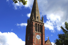 St Michael and All Angles church, Lyndhurst town