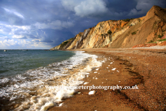 Sand Cliffs at Alum Bay, Isle of Wight