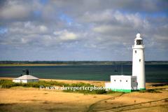 The lighthouse at Hurst Castle, Hurst spit