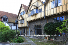Exterior of Cheyney Court, Winchester City,