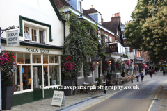 Minster Street shops, Winchester City