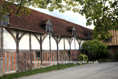 Exterior of the Pilgrims Hall, Winchester City