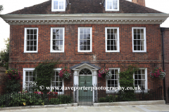 Exterior of the Minster House, Winchester City