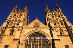 West front of Canterbury Cathedral