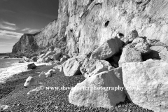 The White Cliffs of Dover, Kent, England, UK