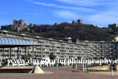 The ornate promenade of Dover town