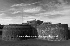 Summer June, July, Deal Castle, Deal Town, Kent County; England; UK