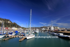The harbour at Dover