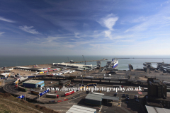 The Eastern Docks Ferry Terminal, Dover town