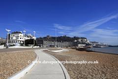 The ornate promenade, Dover town