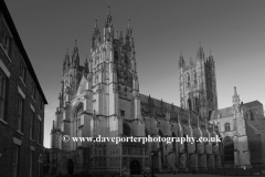West and South elevation of Canterbury Cathedral