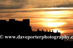 Sunset Landscape over Dover Castle