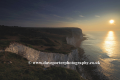 Sunrise over the White Cliffs of Dover