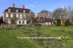 The Salutation gardens, Sandwich town, Kent County; England; UK