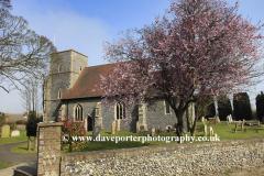 Spring, St Nicholas Parish Church, Sholden village