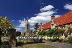 St Andrews church, Billingborough village