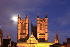 Dusk over Lincoln Cathedral