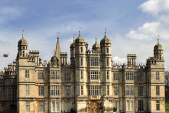West elevation of Burghley House