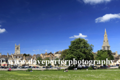 Summer, Stamford Meadows and Stamford churches