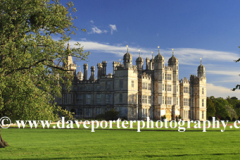 Summer view of Burghley House