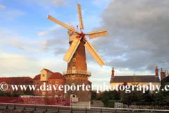 Sunset over Maud Foster Windmill