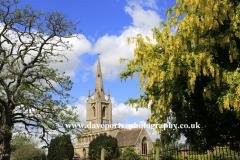 St Andrews church; Billingborough village
