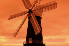 Sibsey Trader windmill, Sibsey village