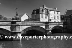 River Welland stone bridge, Stamford Meadows