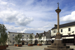 The Market Square, Grantham town