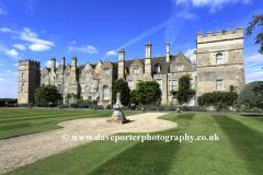 Summer, Grimsthorpe Castle and Gardens