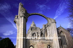 Crowland Abbey, Crowland town