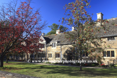 Autumn, the Almshouses cottages, Stamford