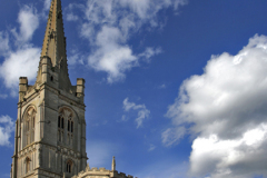 Red Lion Square, All Saints church,  Stamford