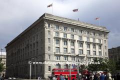 The Cunard Building, George's Parade, Pier Head, UNESCO World Heritage Site, Liverpool, Merseyside, England, UK
