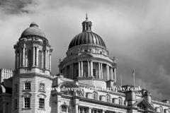 The Port of Liverpool Building, George's Parade, Pier Head, UNESCO World Heritage Site, Liverpool, Merseyside, England, UK