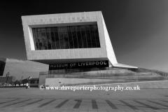 The Museum of Liverpool, George's Parade, Pier Head, UNESCO World Heritage Site, Liverpool, Merseyside, England, UK