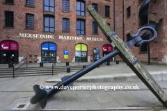 The Merseyside Maritime Museum, Royal Albert Dock, George's Parade, Pier Head, UNESCO World Heritage Site, Liverpool, Merseyside, England, UK