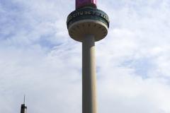 The St John's Beacon, Radio City tower, Liverpool City, Merseyside, England, UK