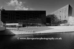 The Open Eye gallery, Royal Albert Dock, George's Parade, Pier Head, UNESCO World Heritage Site, Liverpool, Merseyside, England, UK