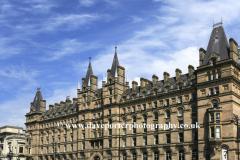 The North Western Hotel, Lime Street, Liverpool, Merseyside, England, UK