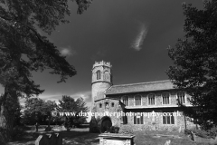 St Nicholas parish church, Potter Heigham village, Norfolk county; England; UK
