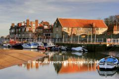 Summer, August, September,  Blakleney Harbour, North Norfolk Coast, England, Britain, UK