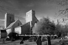 Summer, June, July, Summertime, Weybourne Priory, Weybourne village, North Norfolk Coast, England, Britain, UK
