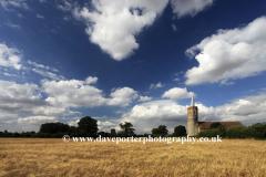 St Georges parish church, Shimpling village, Norfolk County, England, Britain, UK